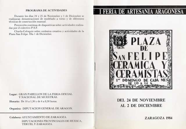 I Feria de Artesanía Aragonesa