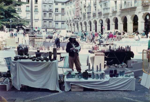 Feria de Logroño. Junio 84.